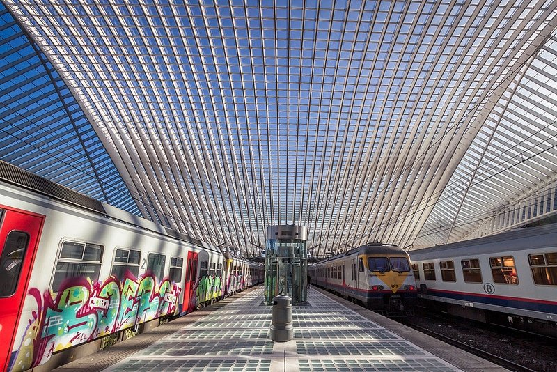 Gare des Guillemins, Liège