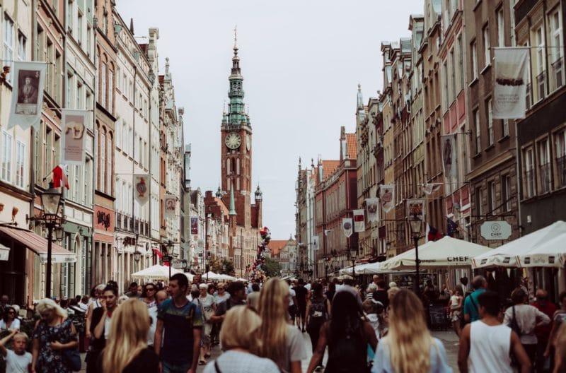 Centre historique, vieille ville, Gdańsk