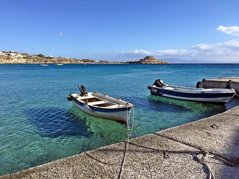 Port de Gialos, Ios