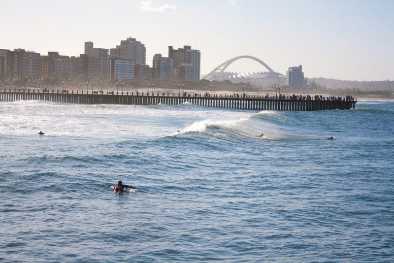Plage Golden Mile, Durban