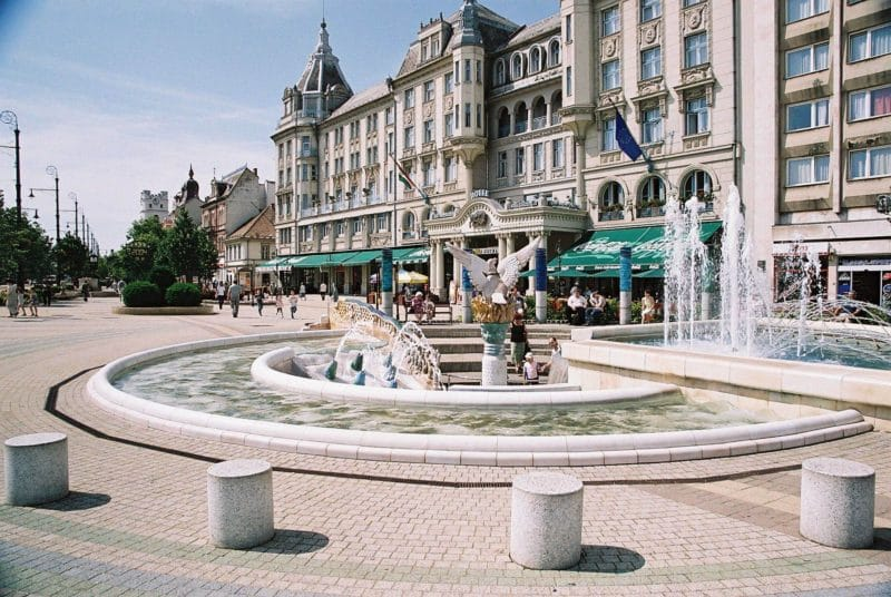 Grand Hôtel Aranybika, Debrecen, Hongrie