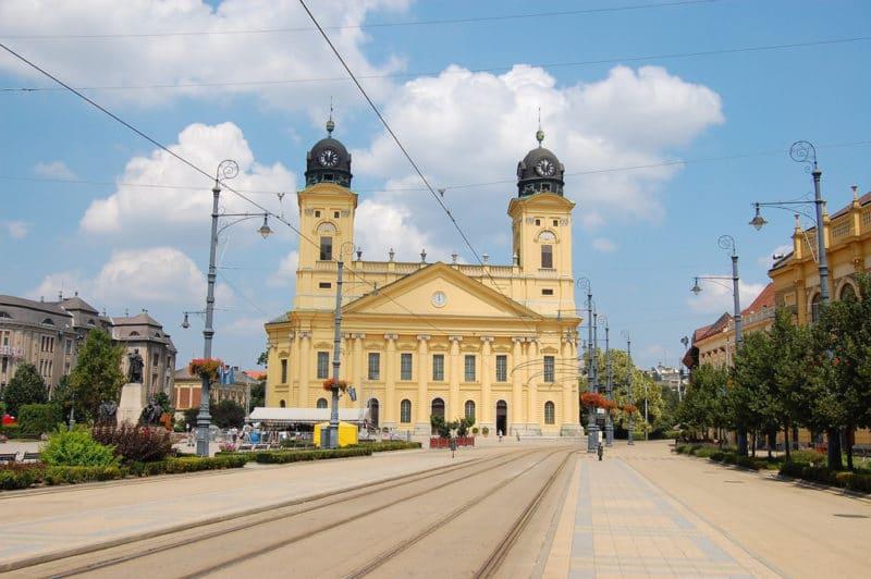 Grande Église protestante, Debrecen, Hongrie