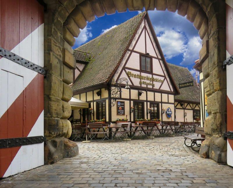 Handwerkerhof, Marché des artisans, Nuremberg
