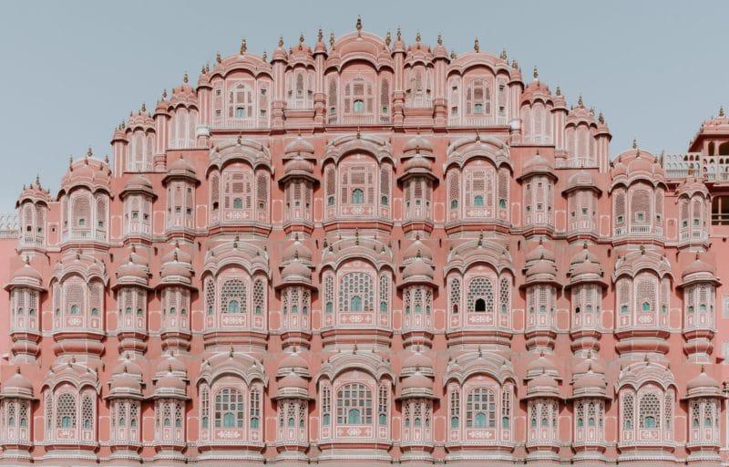 Palais des vents, Hawal Mahal, Jaipur