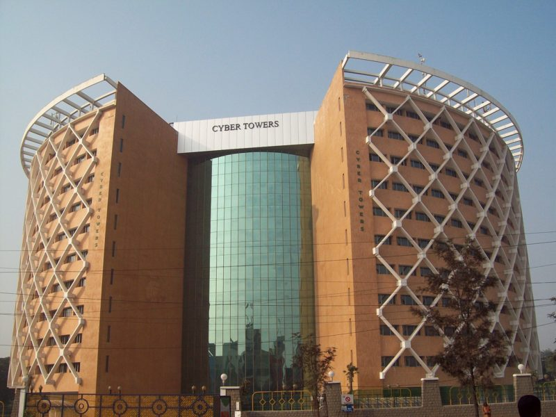 Hitec City, Cyber Towers, Hyderabad