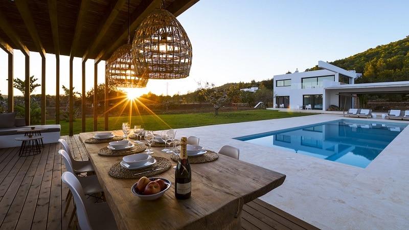 Ibiza nord, location villa
