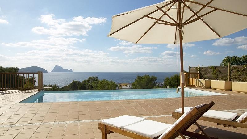 Ibiza ouest, location villa