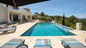 Ibiza Sud, location villa