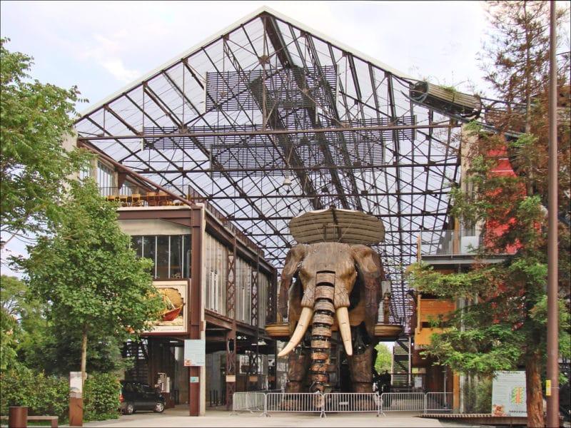 Galerie des Machines, Ile de Nantes, France
