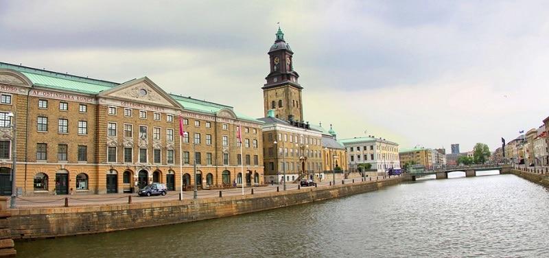 Inom Vallgraven, loger à Goteborg