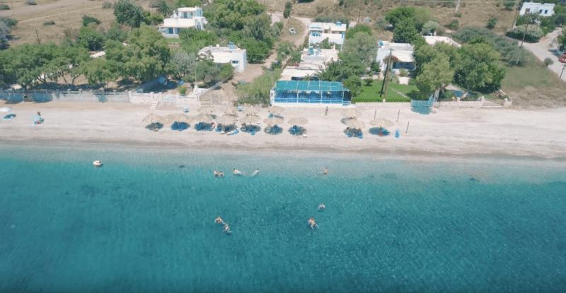Plage Kalamitsa, Skyros