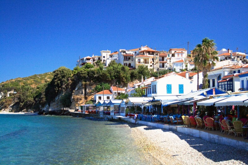 Loger à Kokkari, Samos