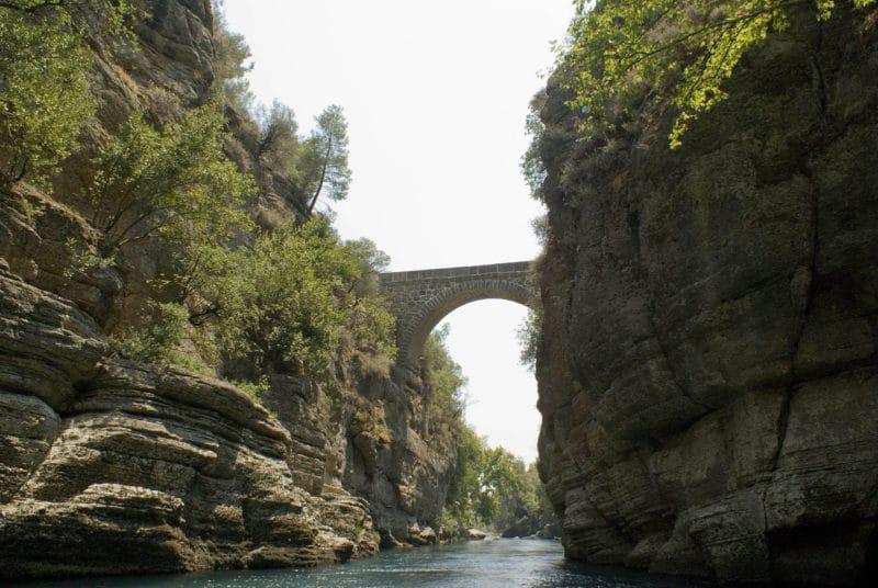Canyon de Koprülü, Antalya