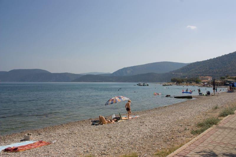 Plage de Korfos, Gavdos, Crète