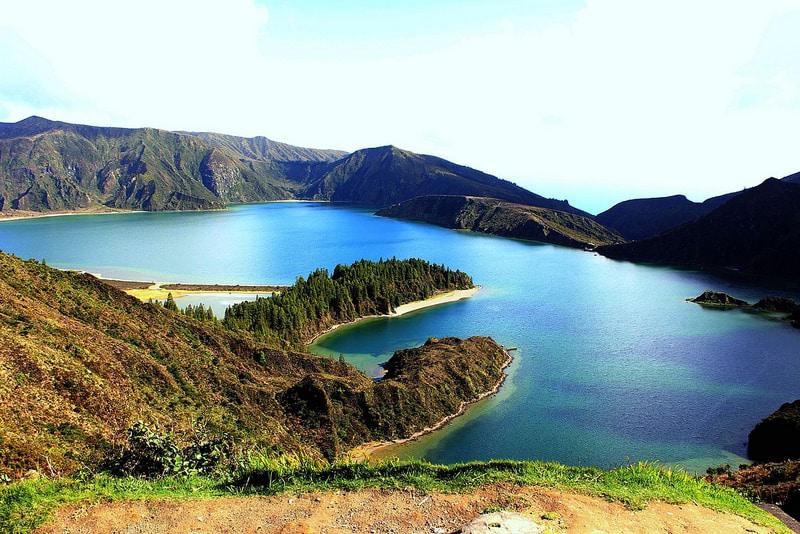 Lagoa do Fogo, Lac de Feu, Açores