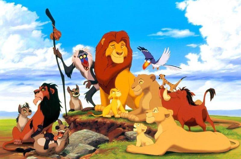 Dessin animé Le Roi Lion