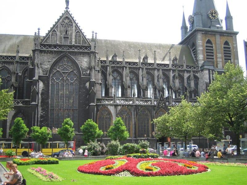 Cathédrale Saint Paul, Quartier de l'Ile, Liège