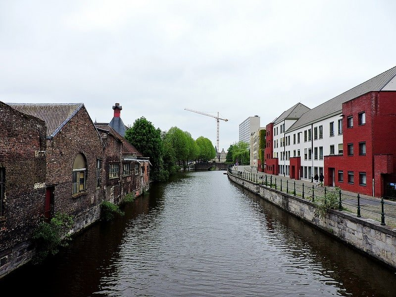 Kanaal de Lieve, Wondelgem, Gand