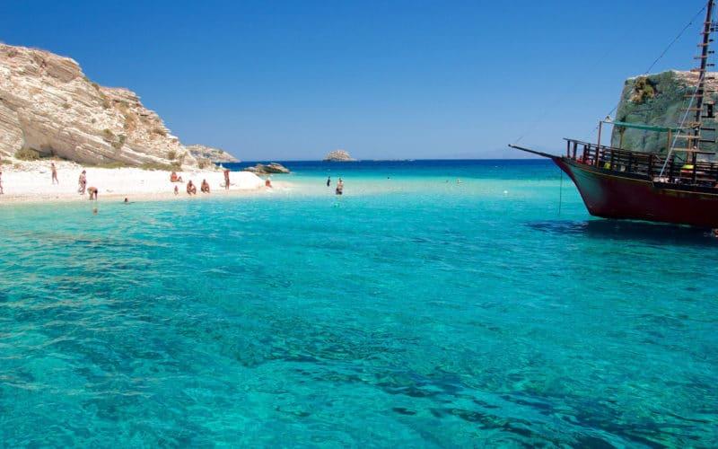 Île Lipsi, Grèce, Mer Égée