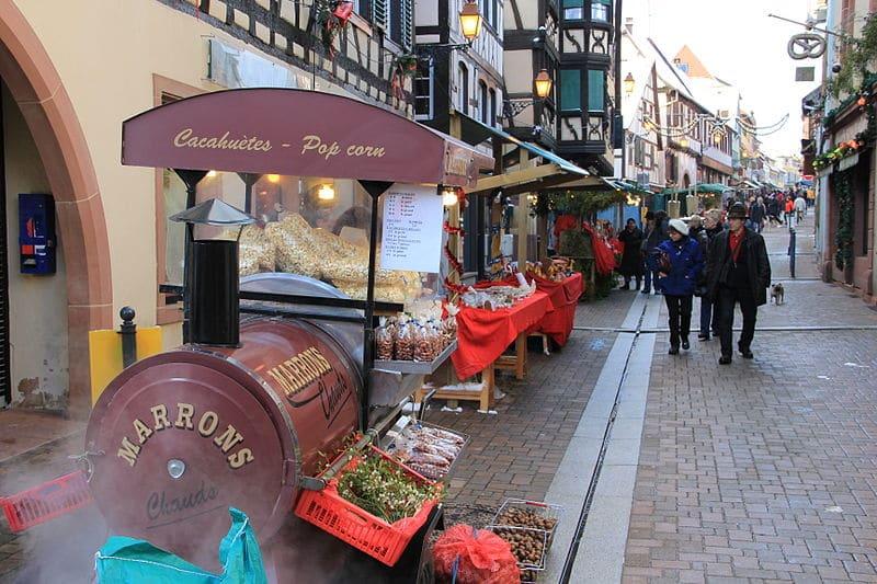 Marché de Noël, Bouxwiller, Alsace