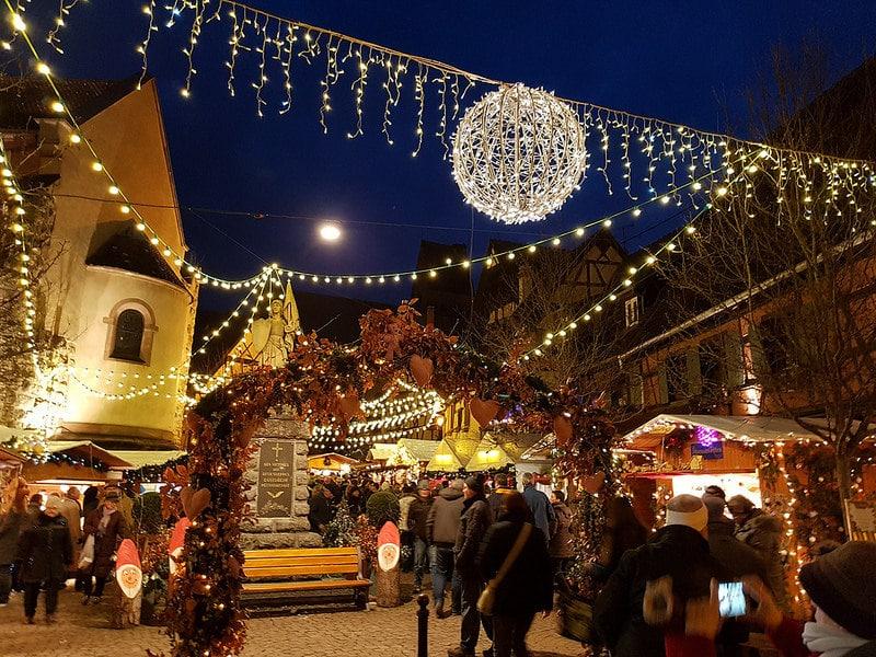 Marché de Noël, Eguisheim, Alsace