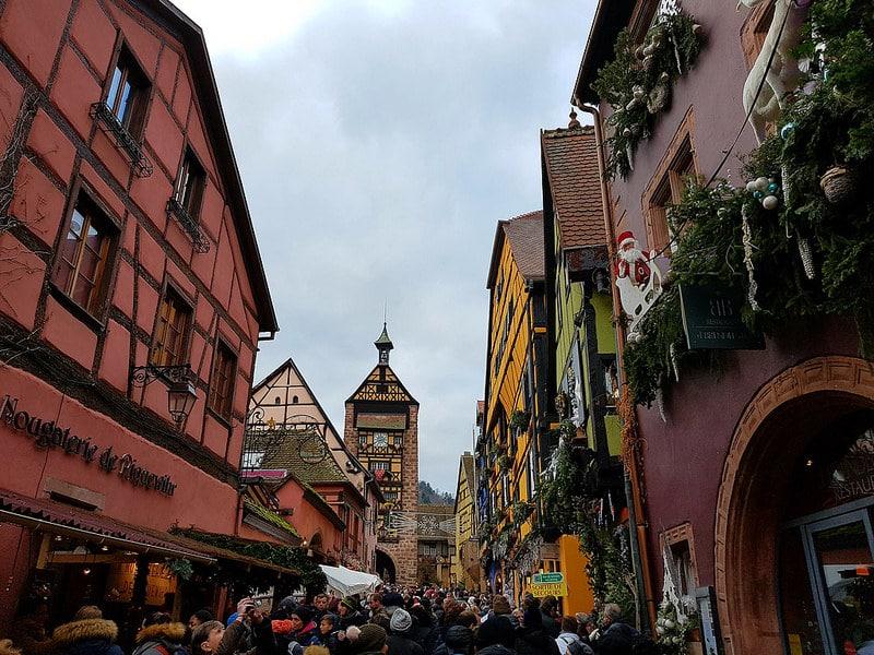 Marché de Noël, Riquewihr, Alsace