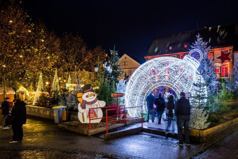 Marché de Noël, Haguenau, Alsace