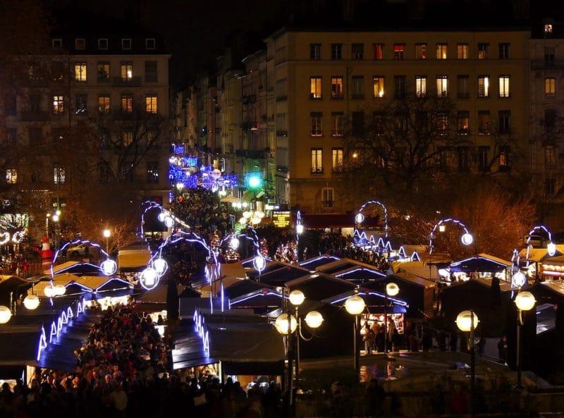 Marché de Noël, Lyon