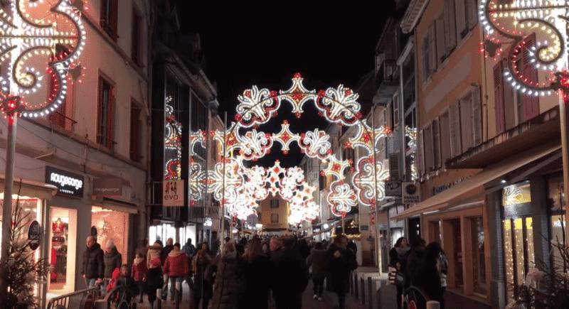 Marché de Noël, Montbéliard