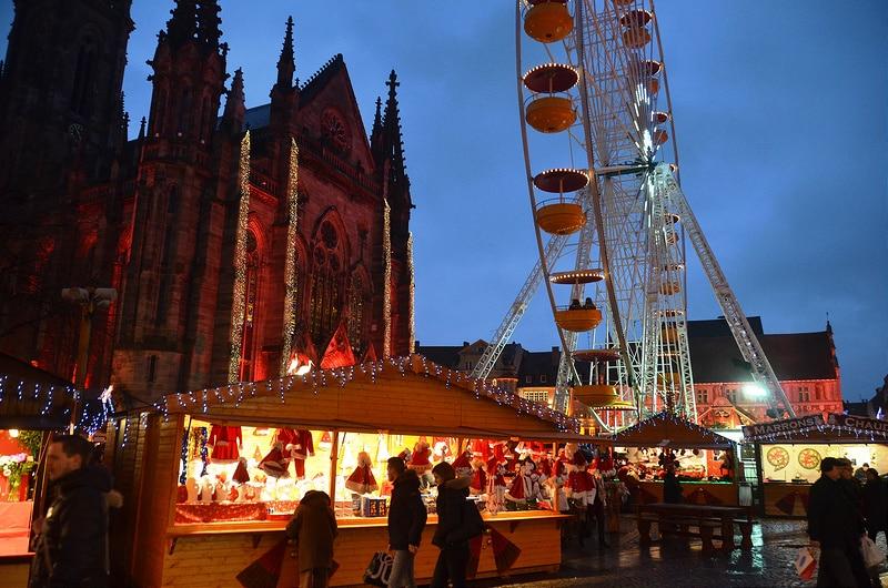 Marché de Noël, Mulhouse, Alsace
