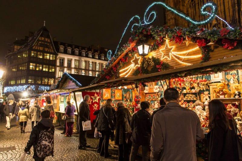 Marché de Noël, Strasbourg, Alsace