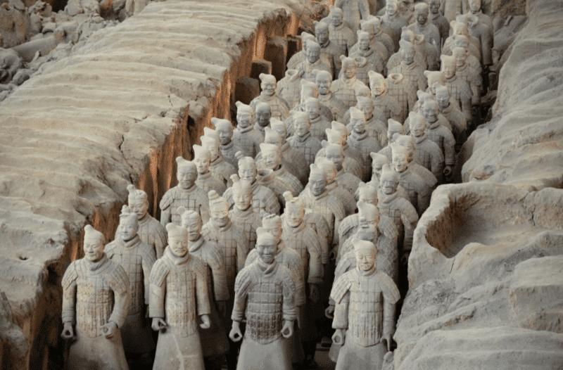 Mausolée de l'Empereur Qin, Xi'An, Chine