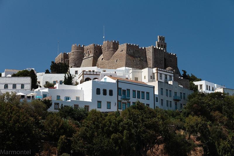 Monastère Saint-Jean le Théologien, Patmos, Grèce, Mer Égée