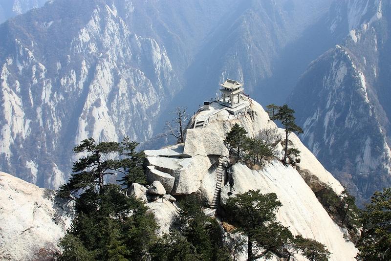 Mont Hua, Huashan, Xi'An, Chine