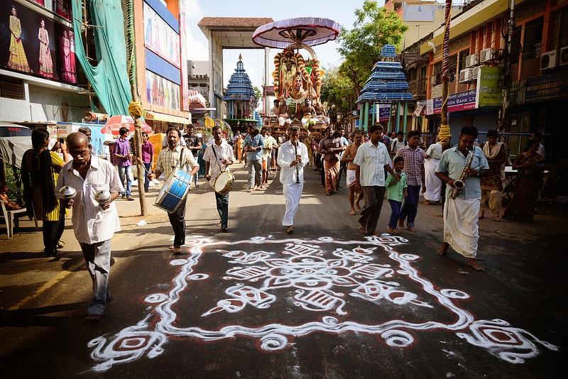 Procession, Mylapore, Chennai