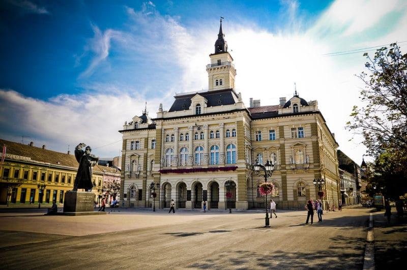 Place principale, centre historique, Novi Sad