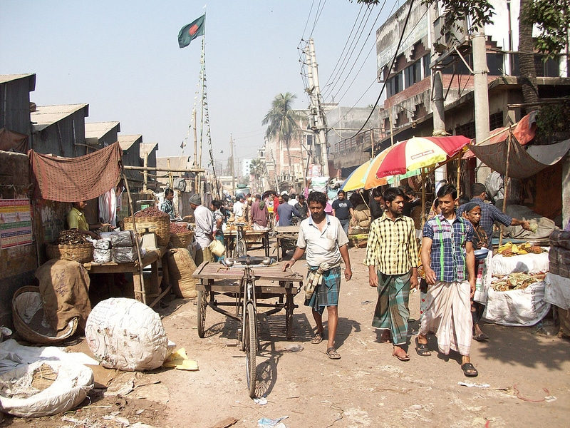 Marché, Old Dhaka