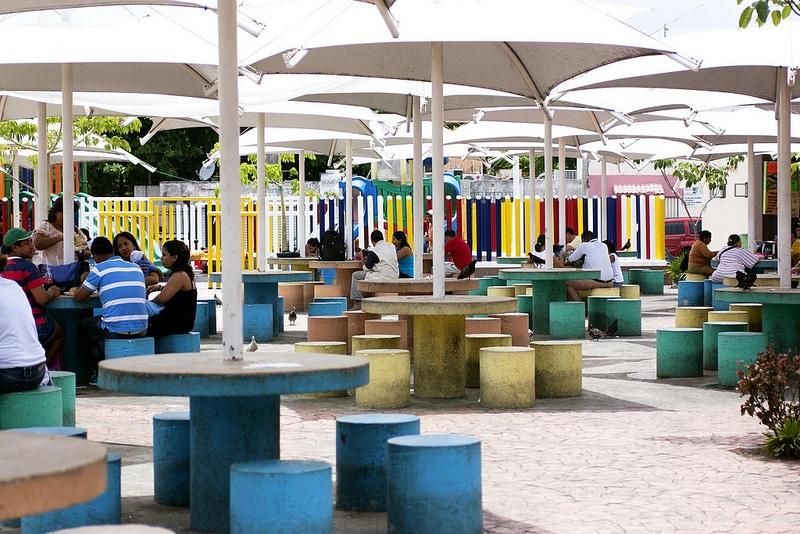 El Parque de Las Palapas, Cancún