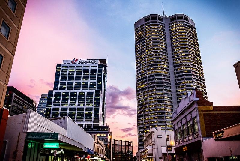Centre ville, Perth