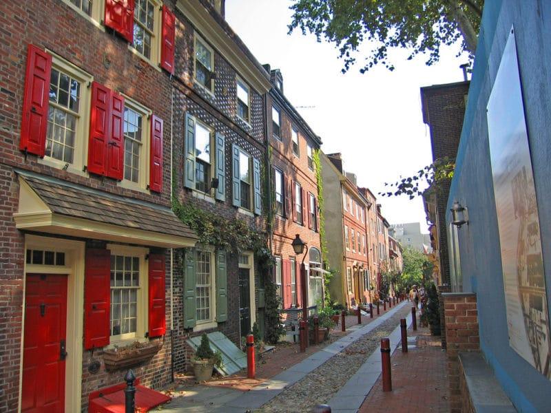 Vieille ville, Philadelphie