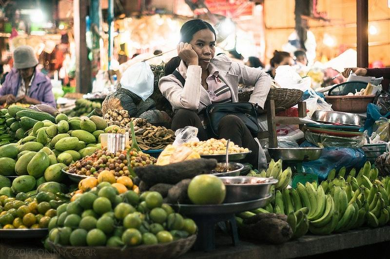Marché de Phsar Chas, Siem Reap