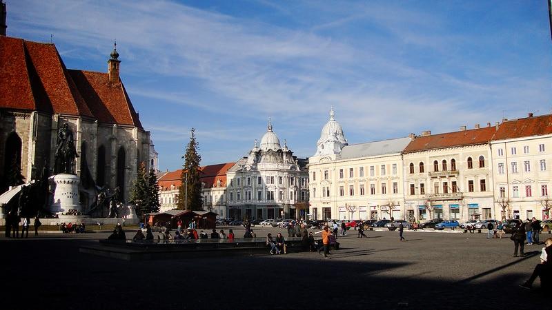 Piata Unirii, Centru, Cluj-Napoca