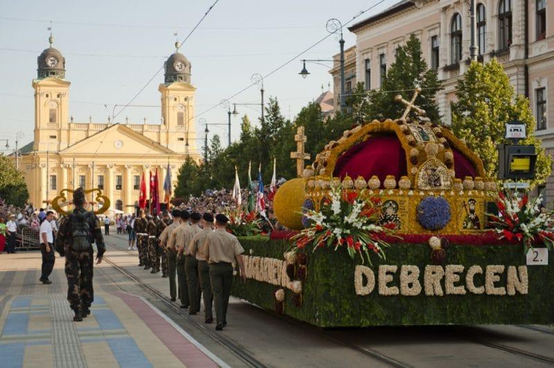 Carnal des fleurs, Debrecen, Hongrie