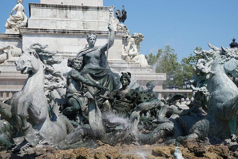 Monument aux Girondins, Place Quinconces, Bordeaux
