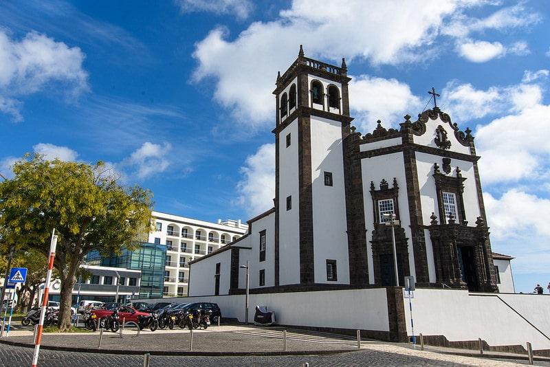 Église à Ponta Delgada, Açores