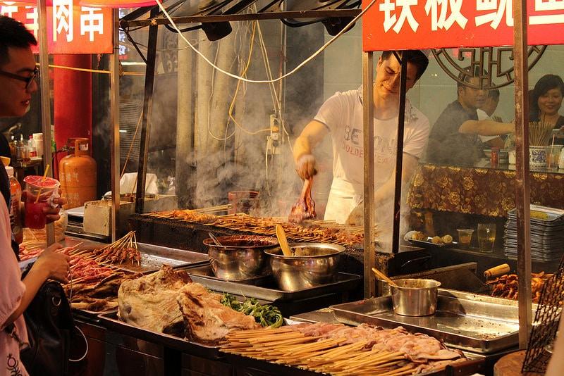 Marché Musulma, Xi'An, Chine