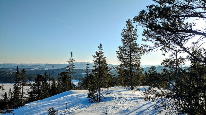 Point de vue randonnée, Trondheim
