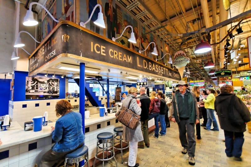 Marché Reading Terminal Market, Philadelphie