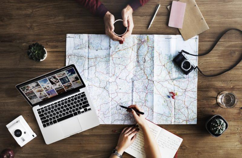 Devenir Digital Nomad, rédacteur web voyage