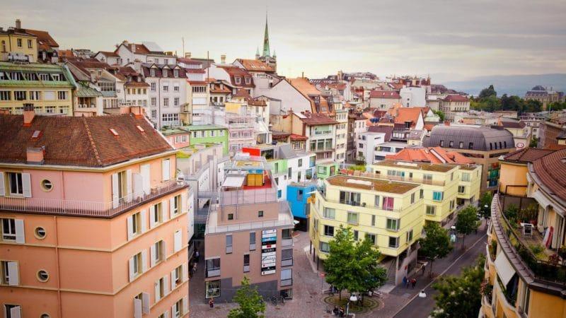 Quartier du Rôtillon, Lausanne